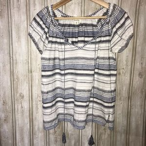 🛍  3/$20 🛍 Max Studio Striped Blouse